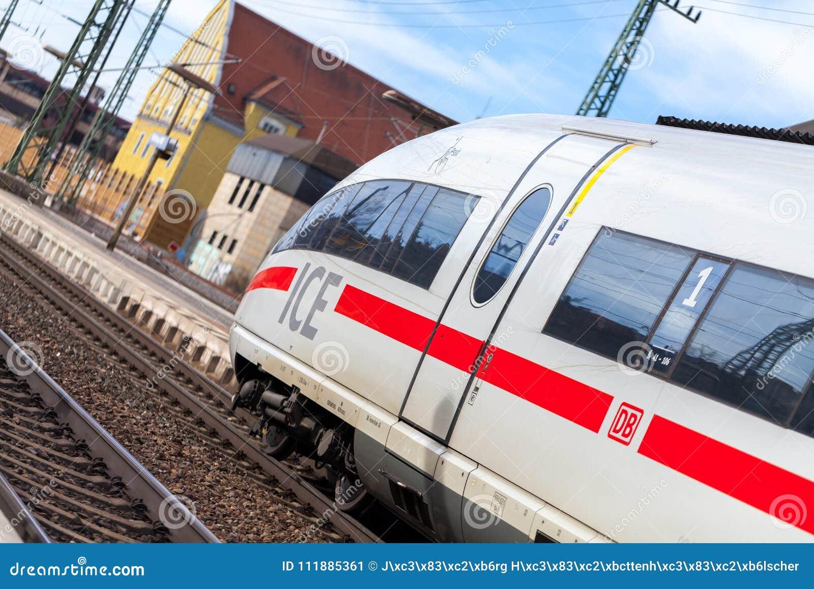 https://thumbs.dreamstime.com/z/ice-intercity-express-train-deutsche-bahn-passes-train-station-fuerth-germany-march-ice-intercity-express-train-deutsche-111885361.jpg