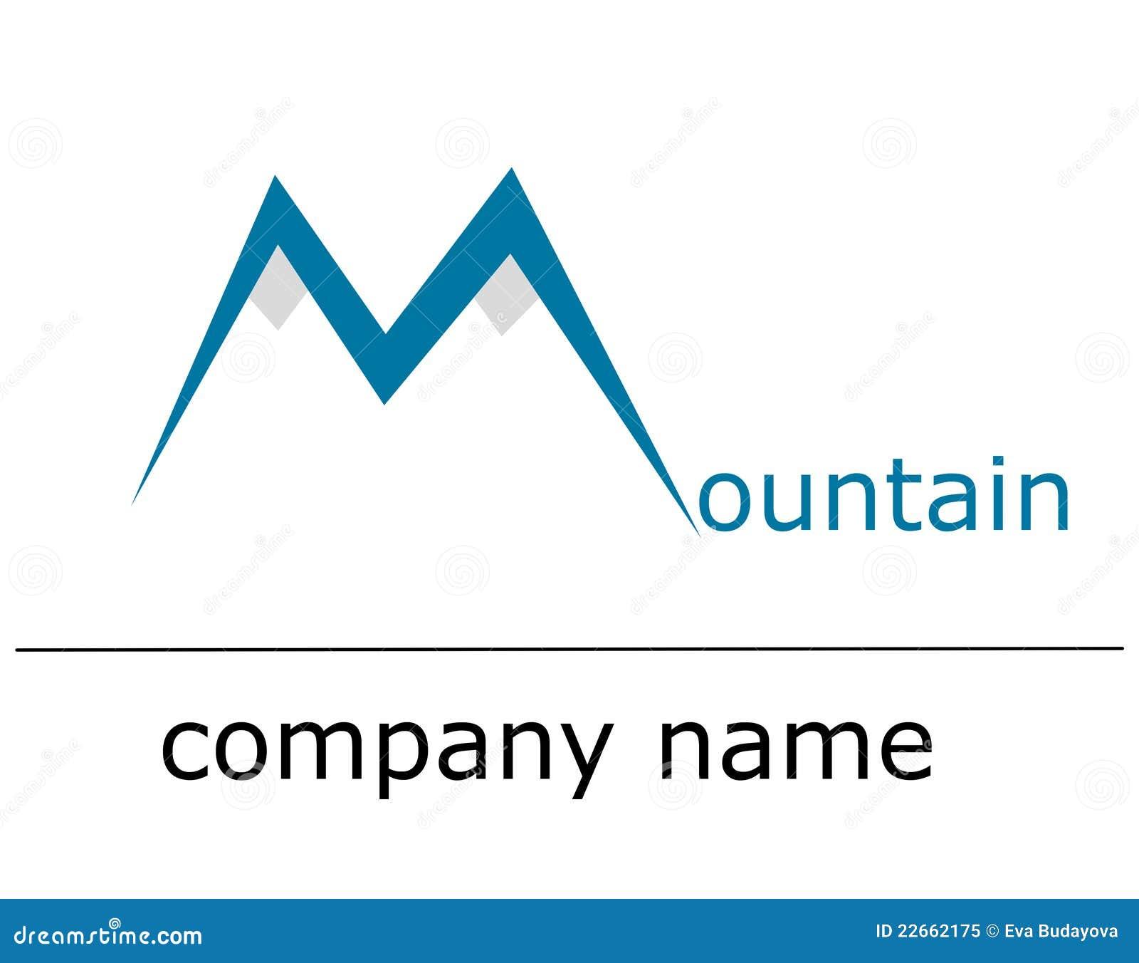 Ice mountain logo stock illustration. Image of fresh ...