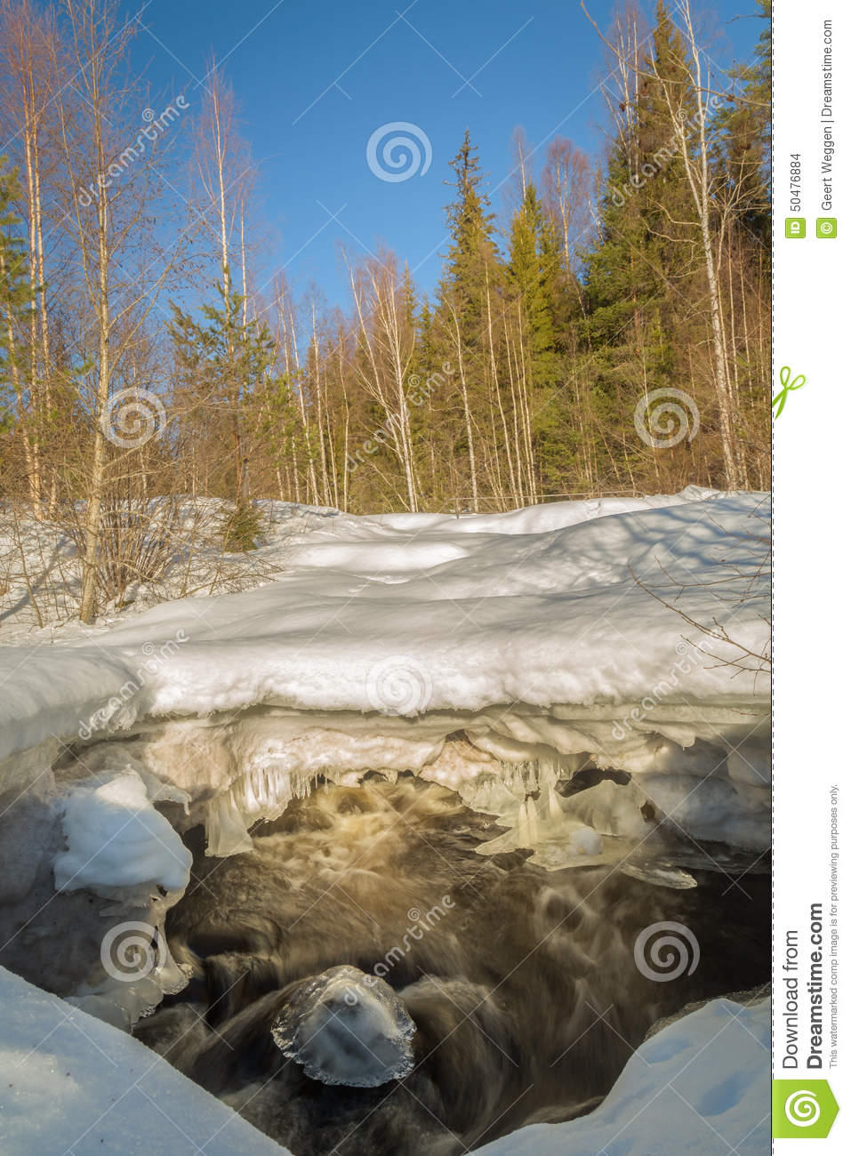 Ice on the move stock photo image 50476884 for Laying river rock