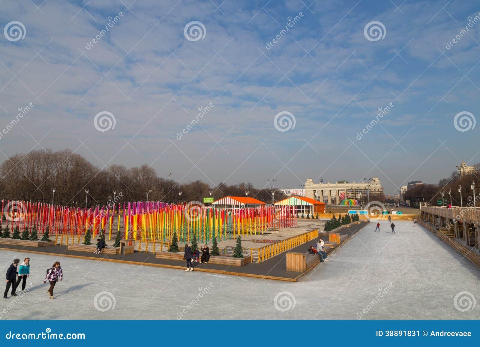 Skating rink in Gorky Park: photo and reviews