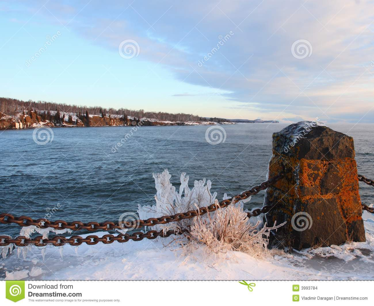 Download Ice On The Shore Of Lake Superior Stock Photo - Image of frozen, minnesota: 3993784