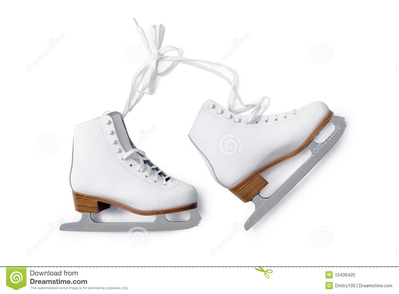 Ice Skate Stock Photo - Image: 15436420