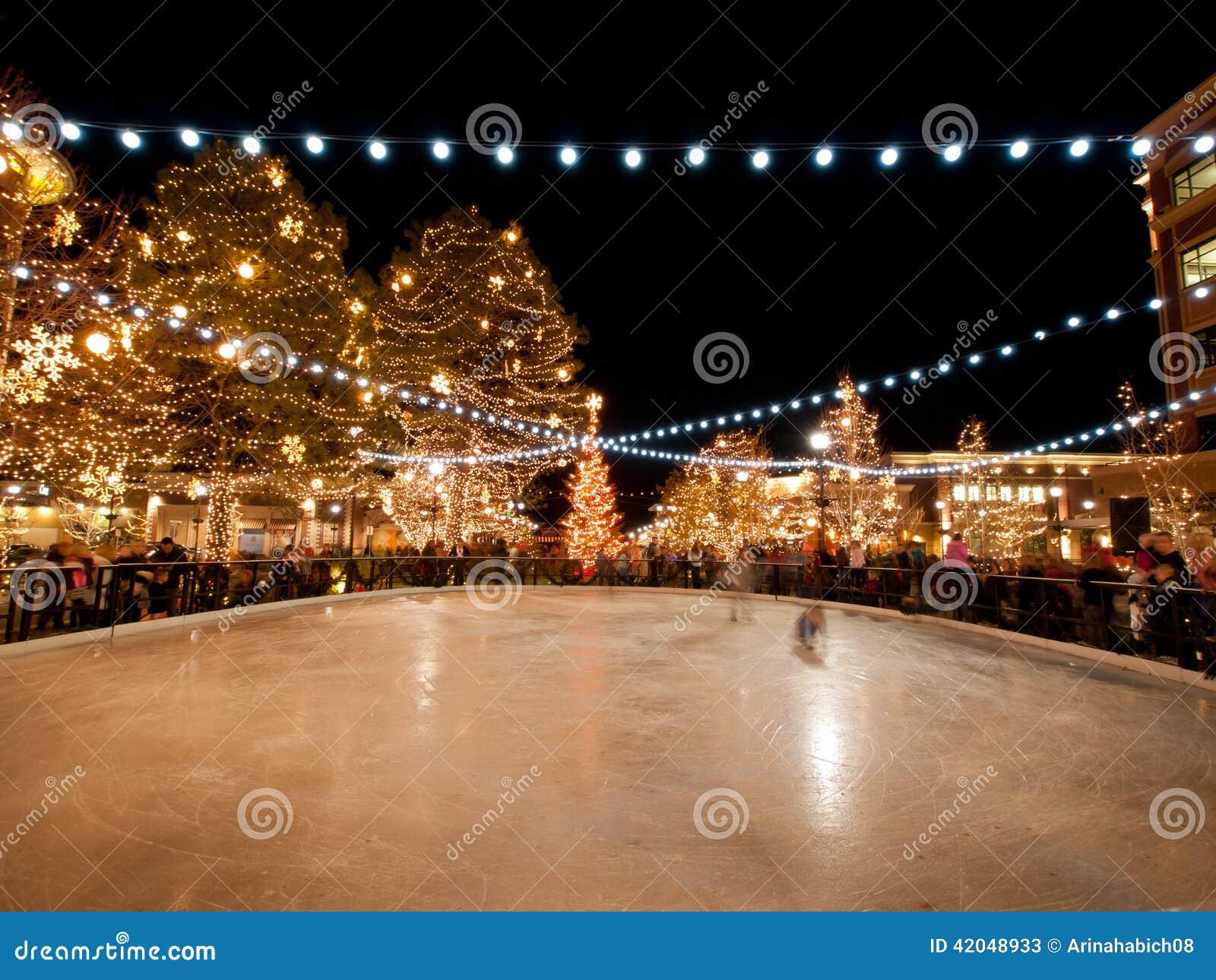Lighting A Christmas Tree