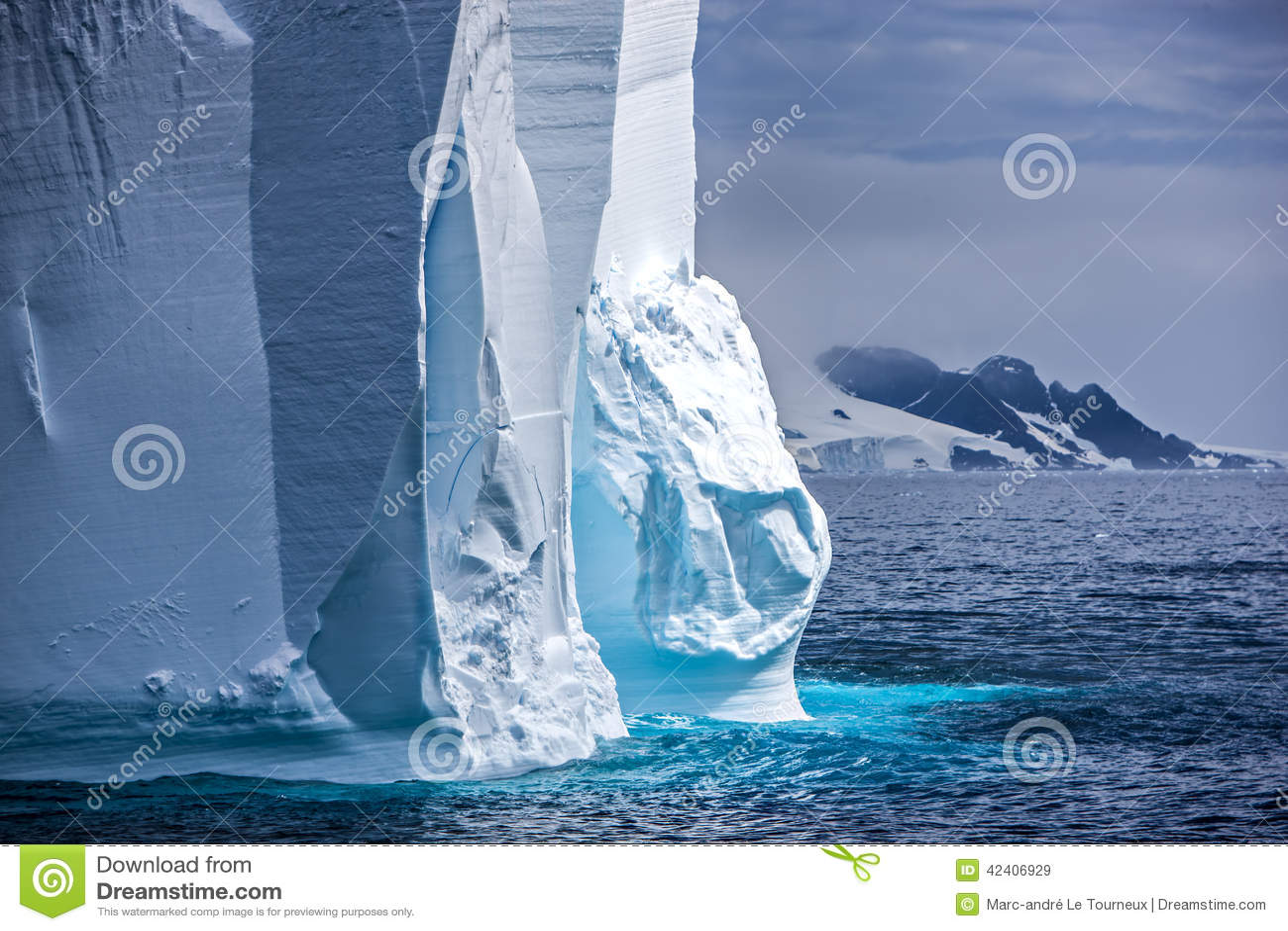 Iceberg antarctique