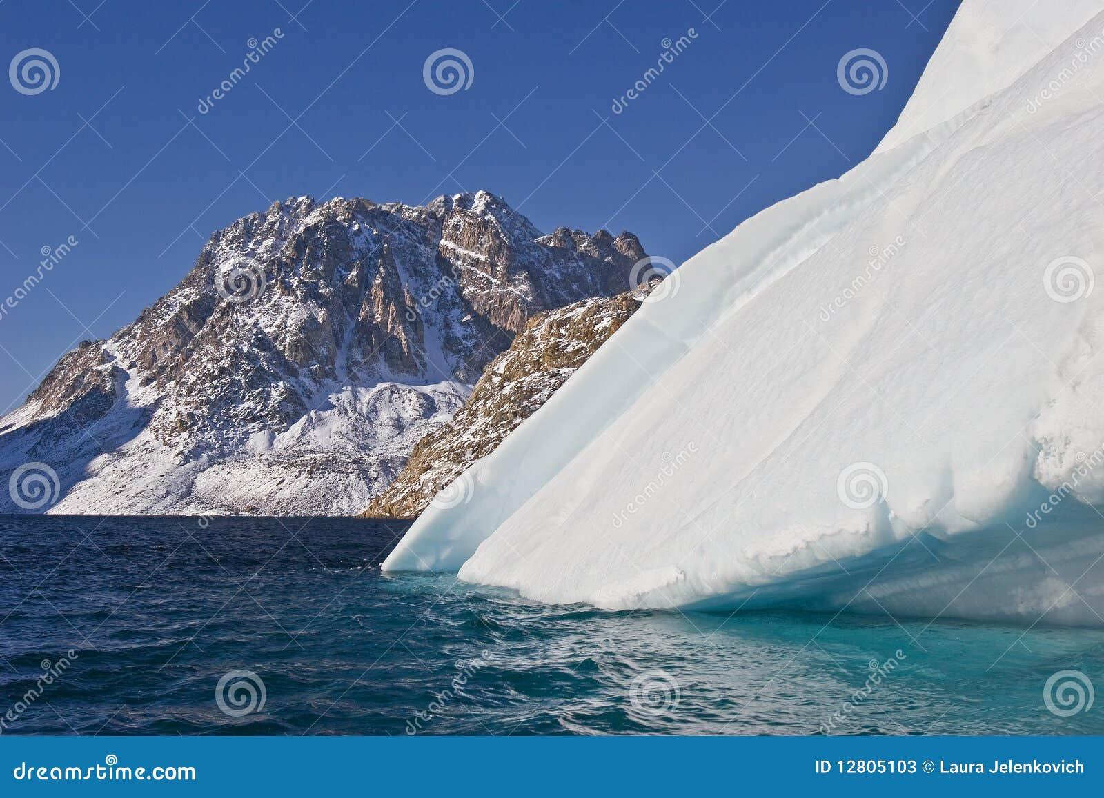 Iceberg e montanha