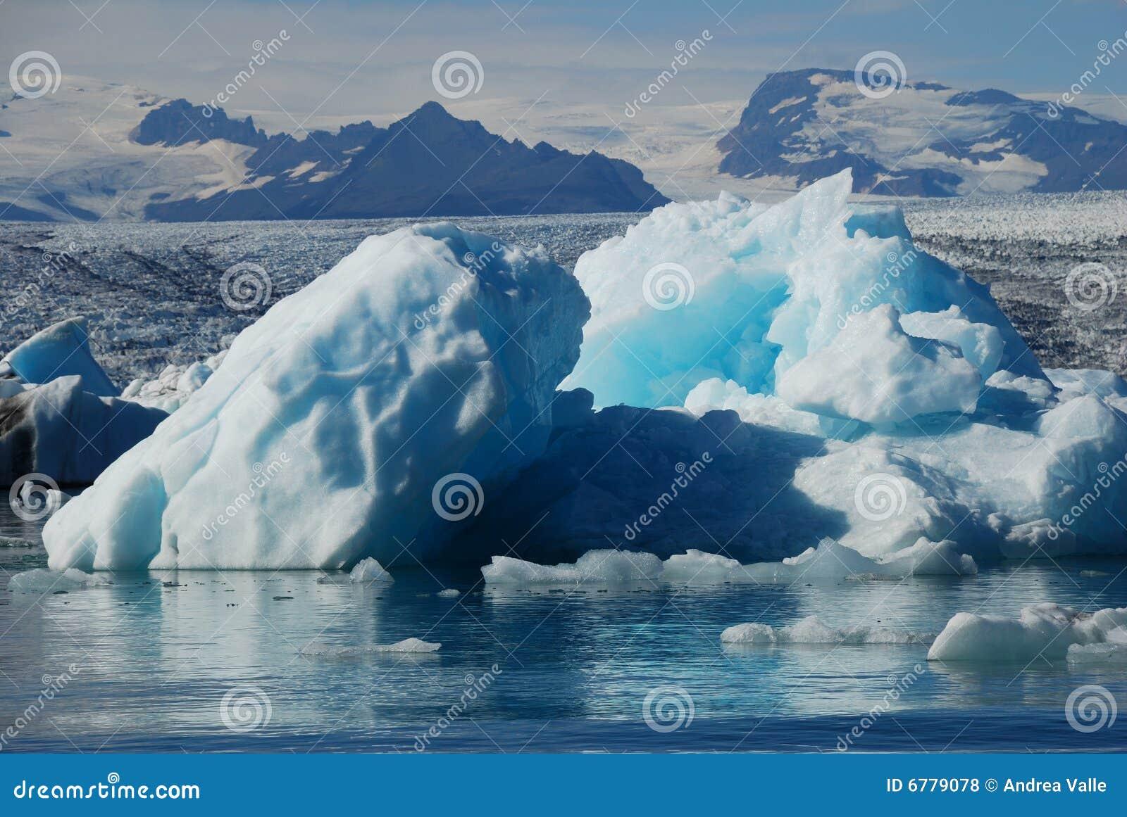 Iceberg em Islândia