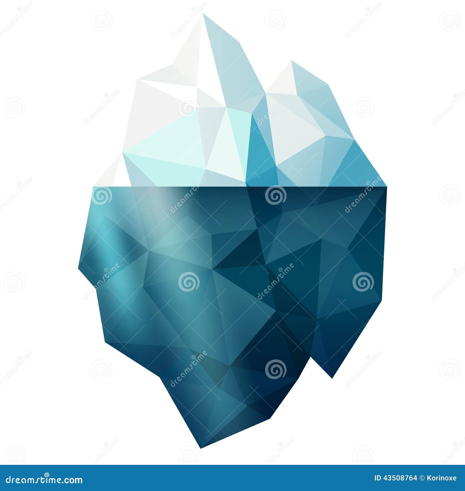 Iceberg isolato