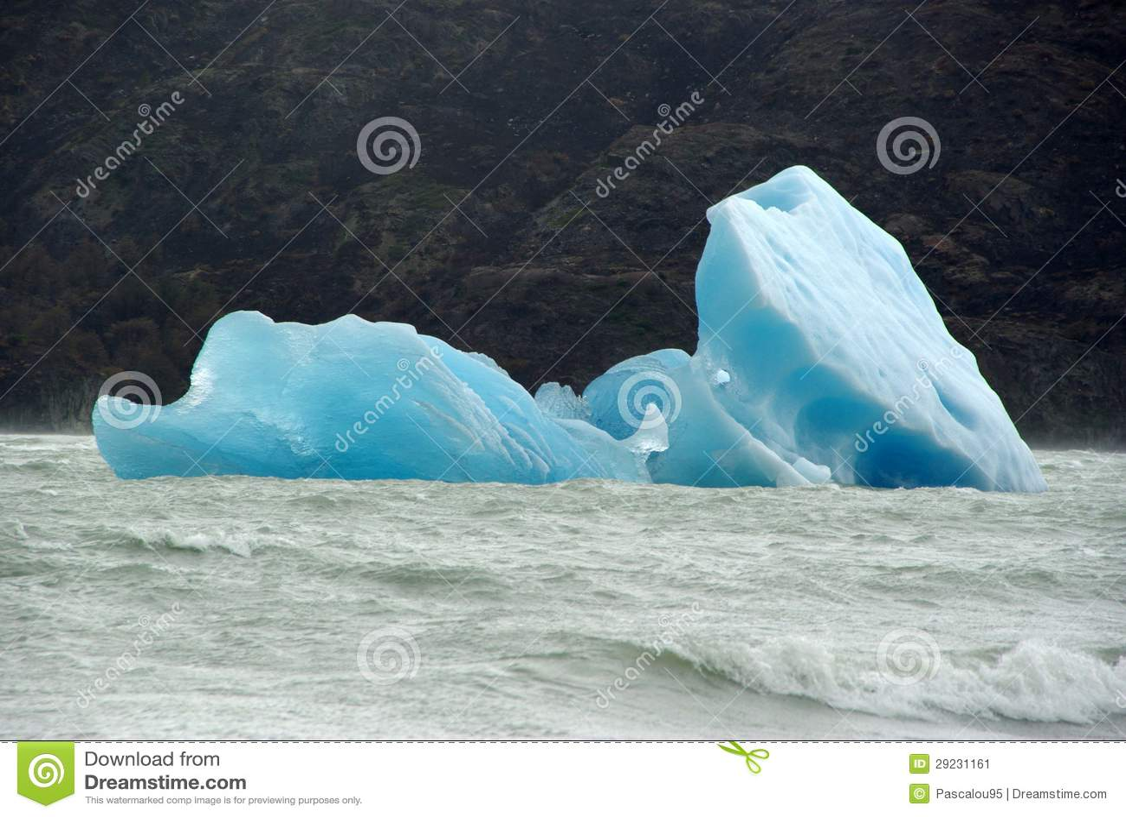 Download Iceberg, o Chile imagem de stock. Imagem de thawing, nave - 29231161