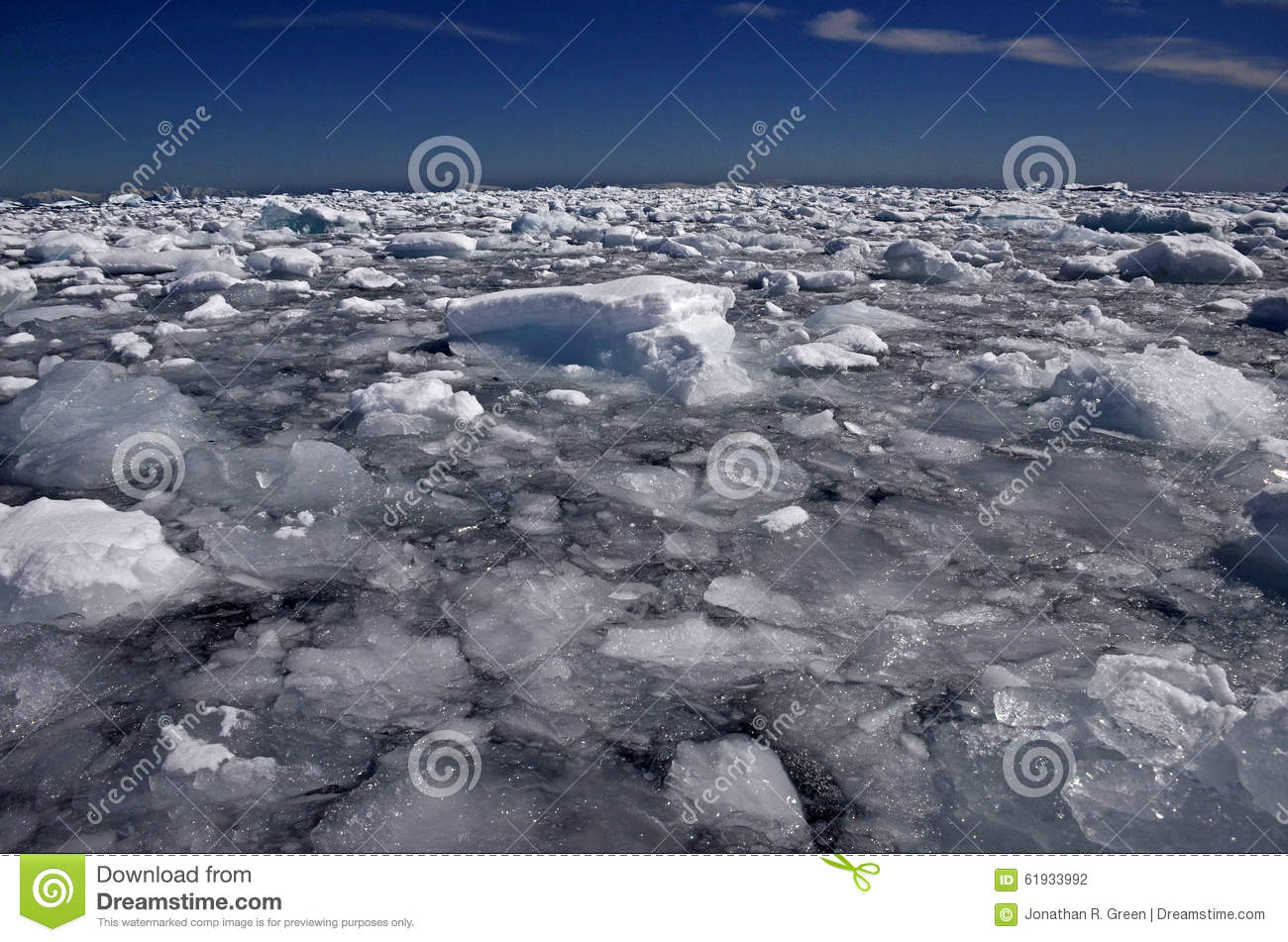 Icebergs and brash ice antarctica stock photo image for Covers from the ocean