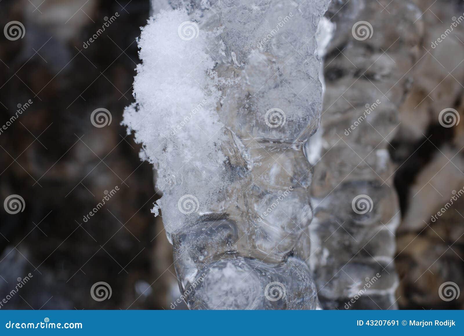 Download Icecold fotografering för bildbyråer. Bild av snow, frost - 43207691