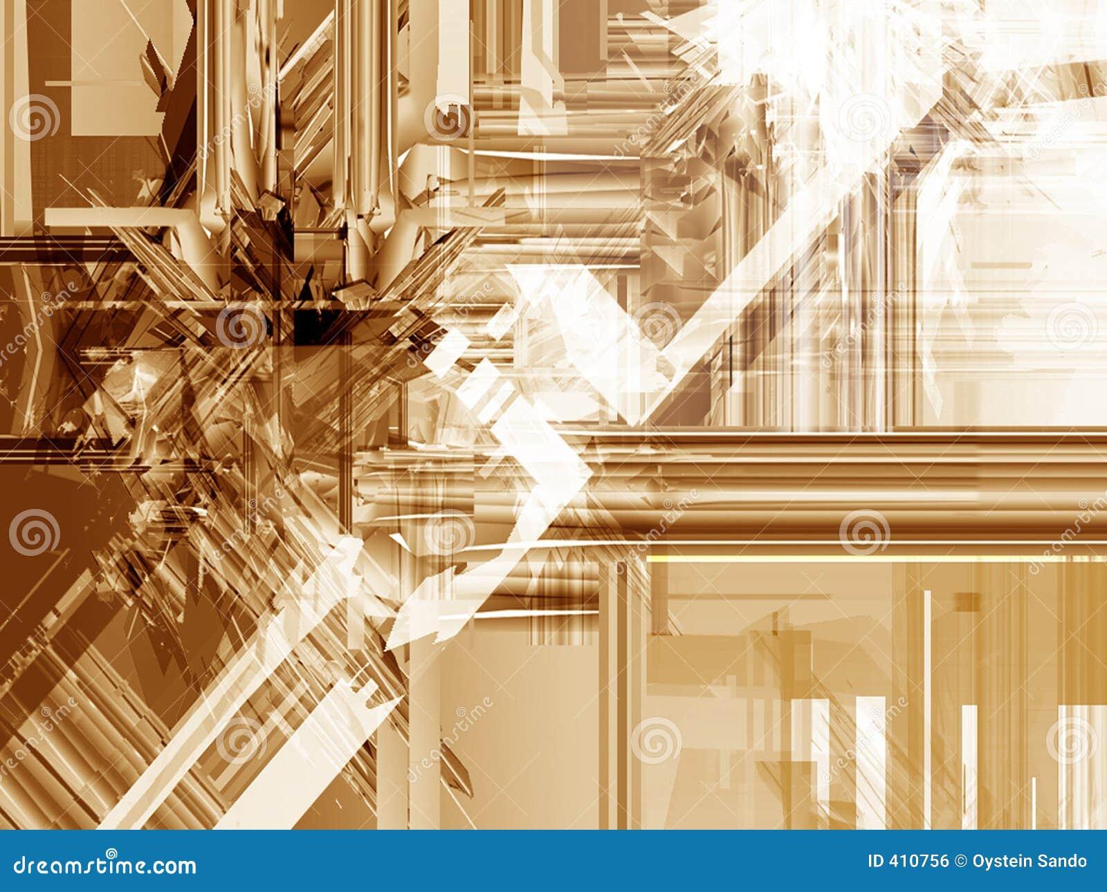 Icecrush abstrait