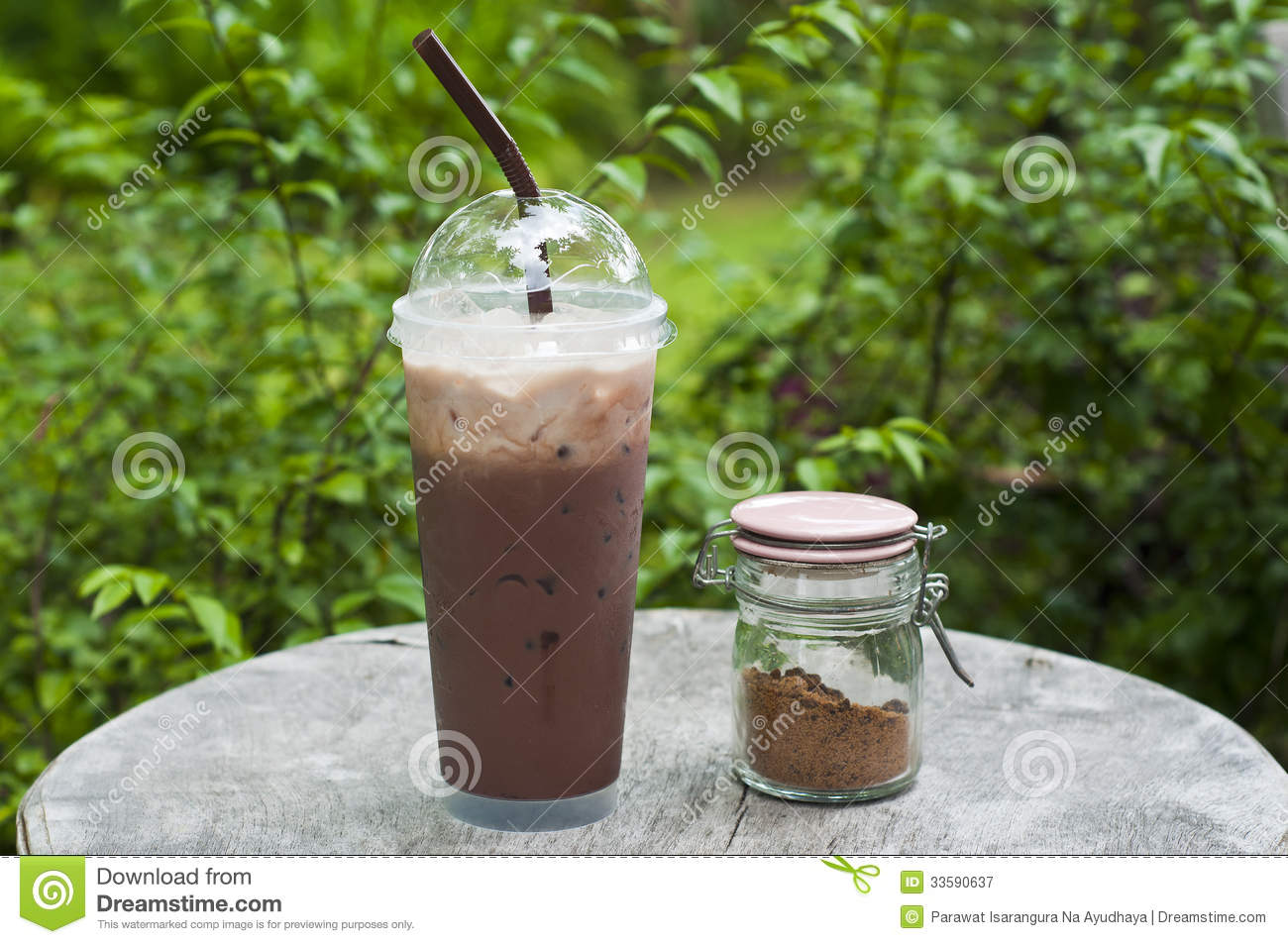 Iced Chocolate. Royalty Free Stock Photography - Image: 33590637