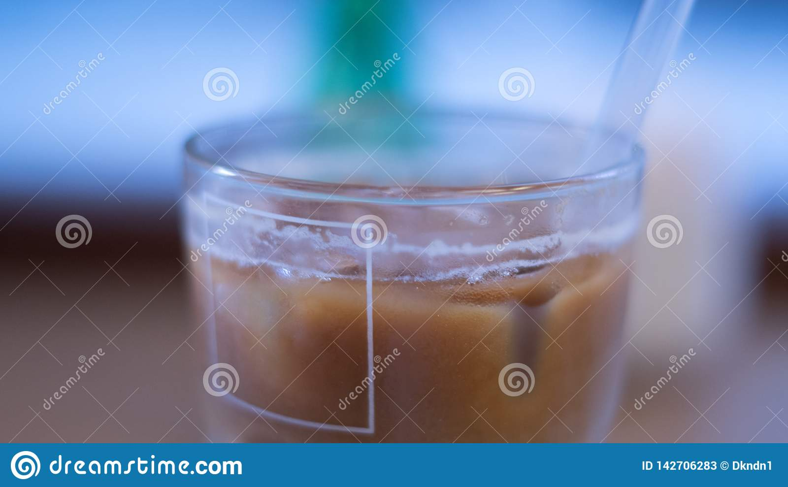 Iced Coffee blury