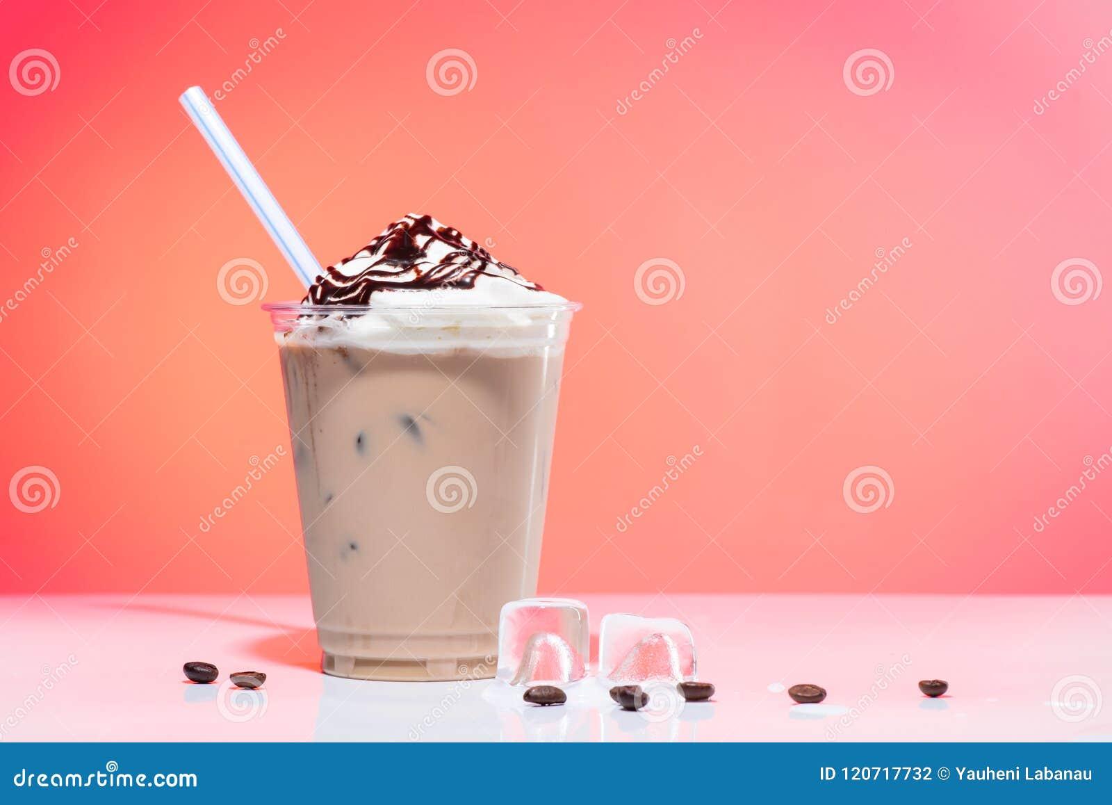 iced coffee with ice-cream