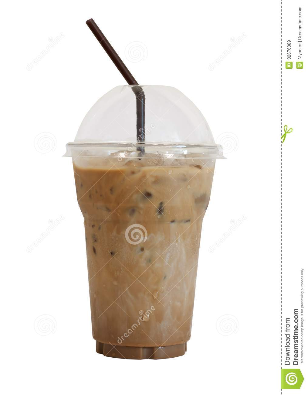 Iced Coffee Stock Image Of Beans Cappuccino
