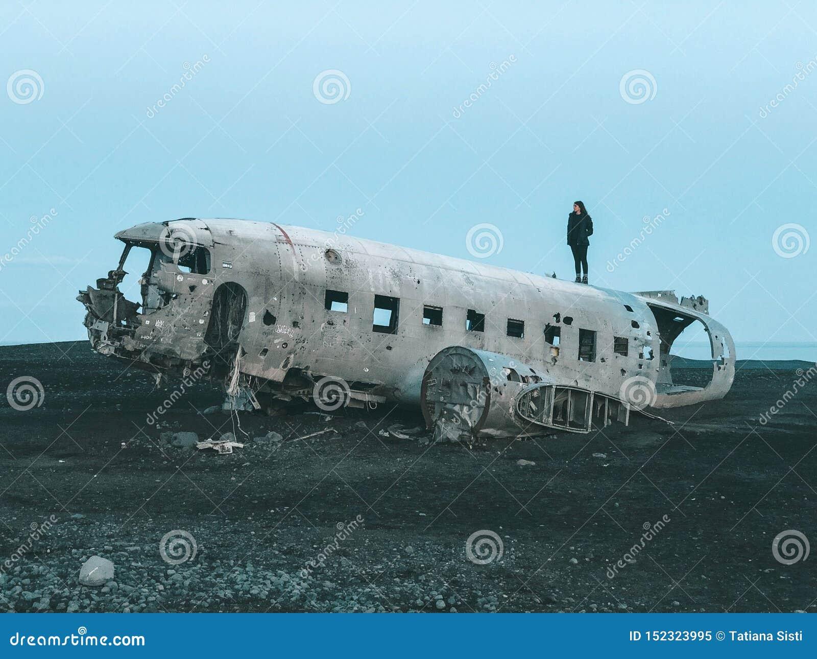 Iceland, Dakota wraku samolot -