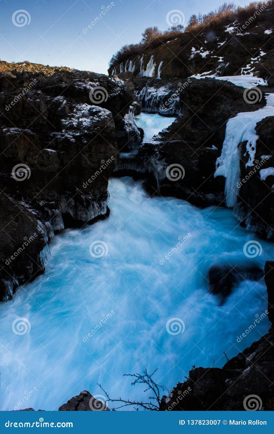 Iceland flod