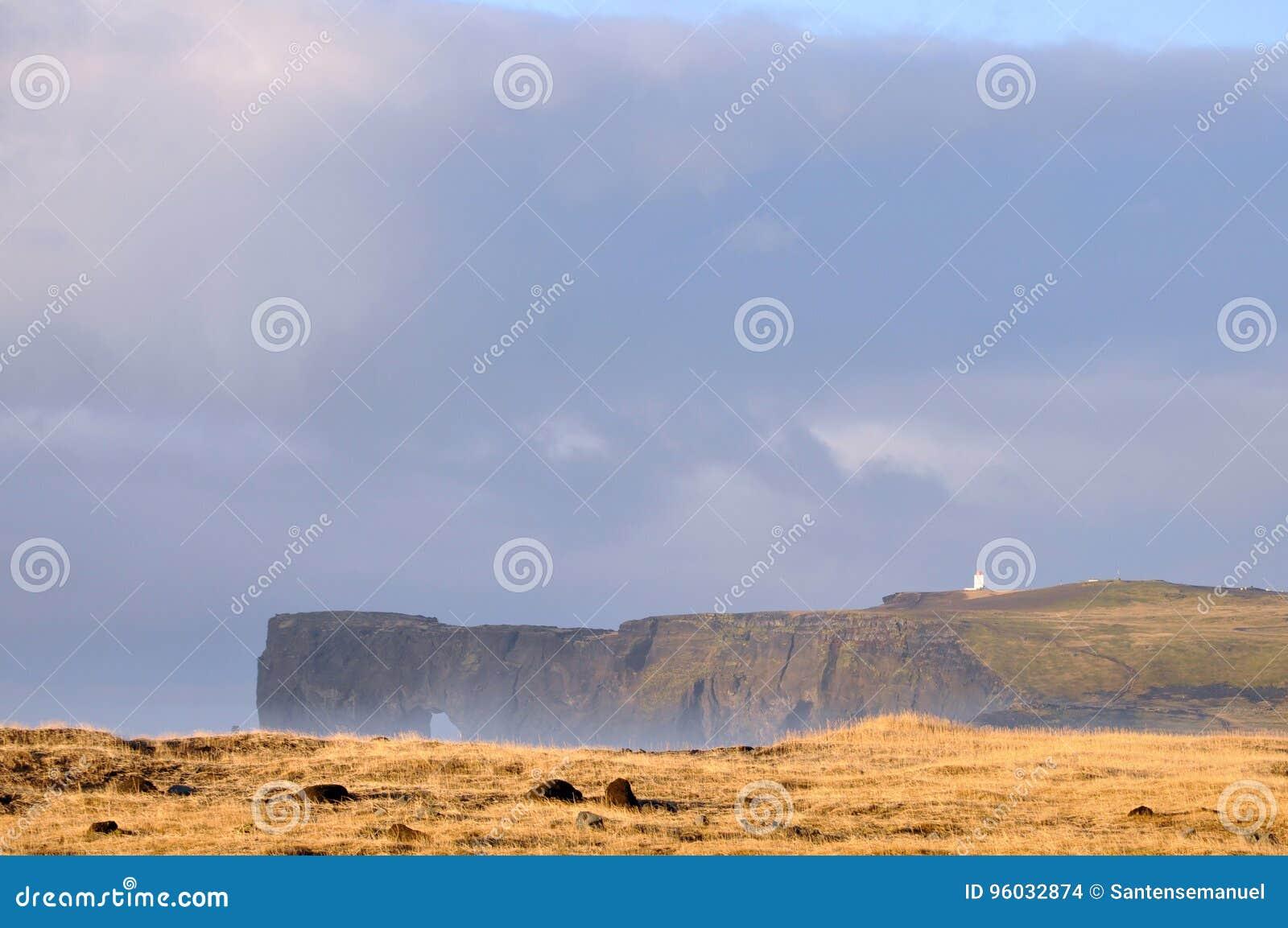 Iceland krajobraz
