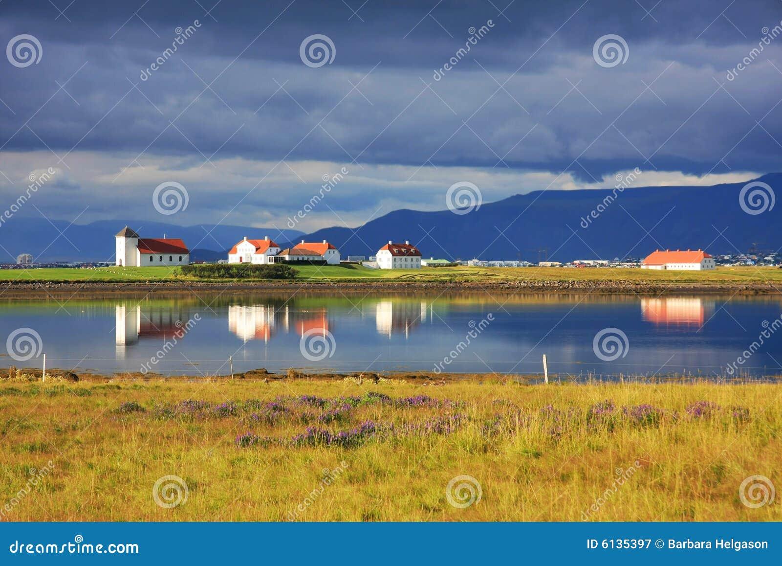 Iceland liggande