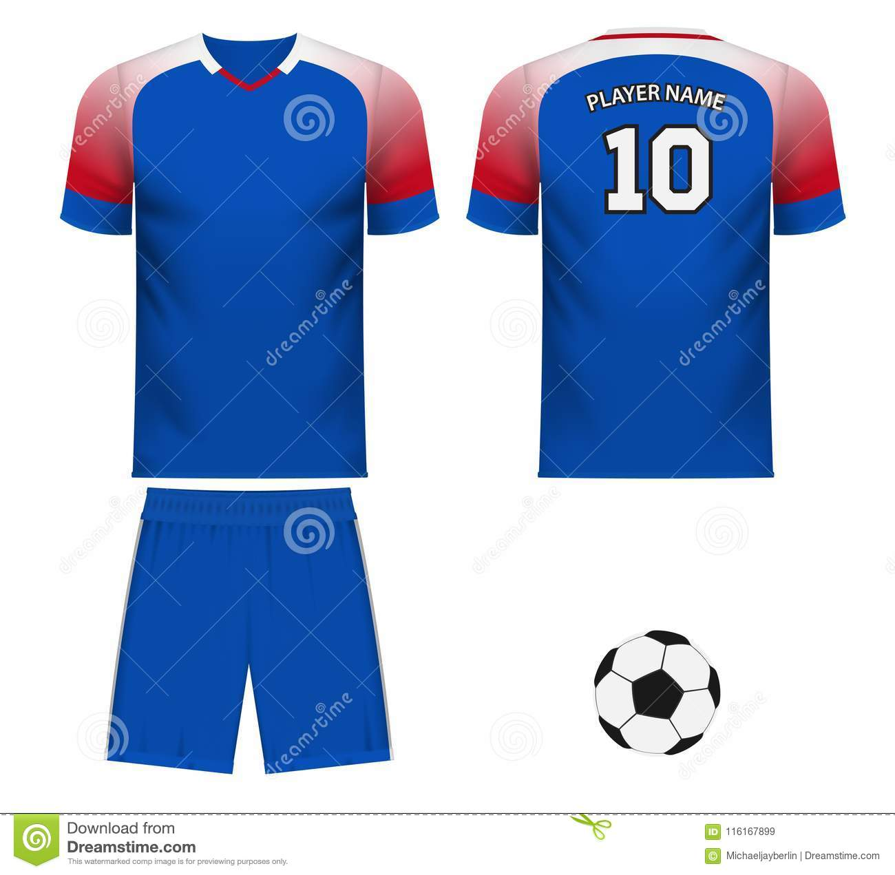 3a14a9d42b8 Iceland national soccer team shirt in generic country colors for fan apparel