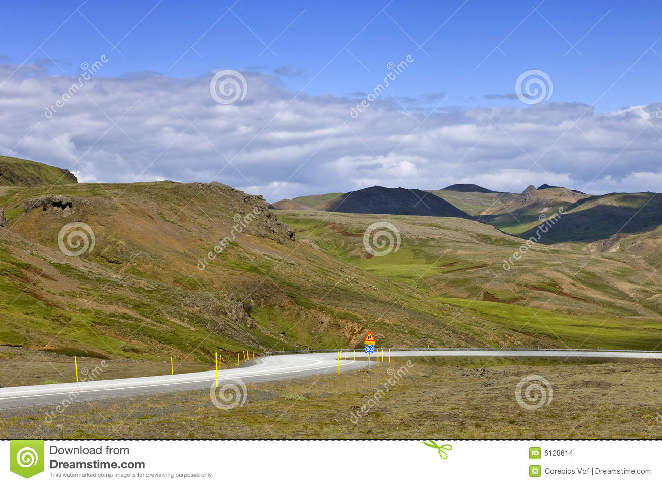 Design Your Ring Iceland Ring Road Stock Images Image 6128614