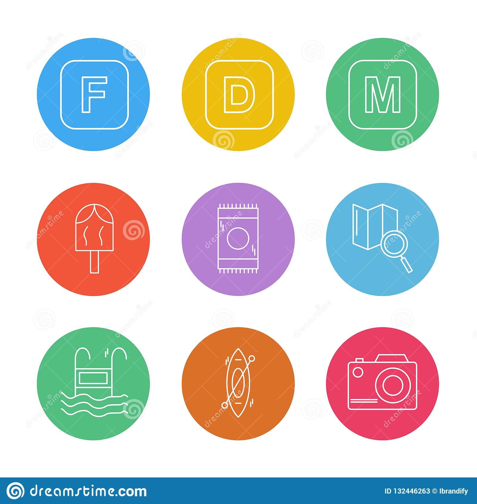 icelolly, search , map , camera , alphabets , sea , food , picnic , summer , eps icons set vector