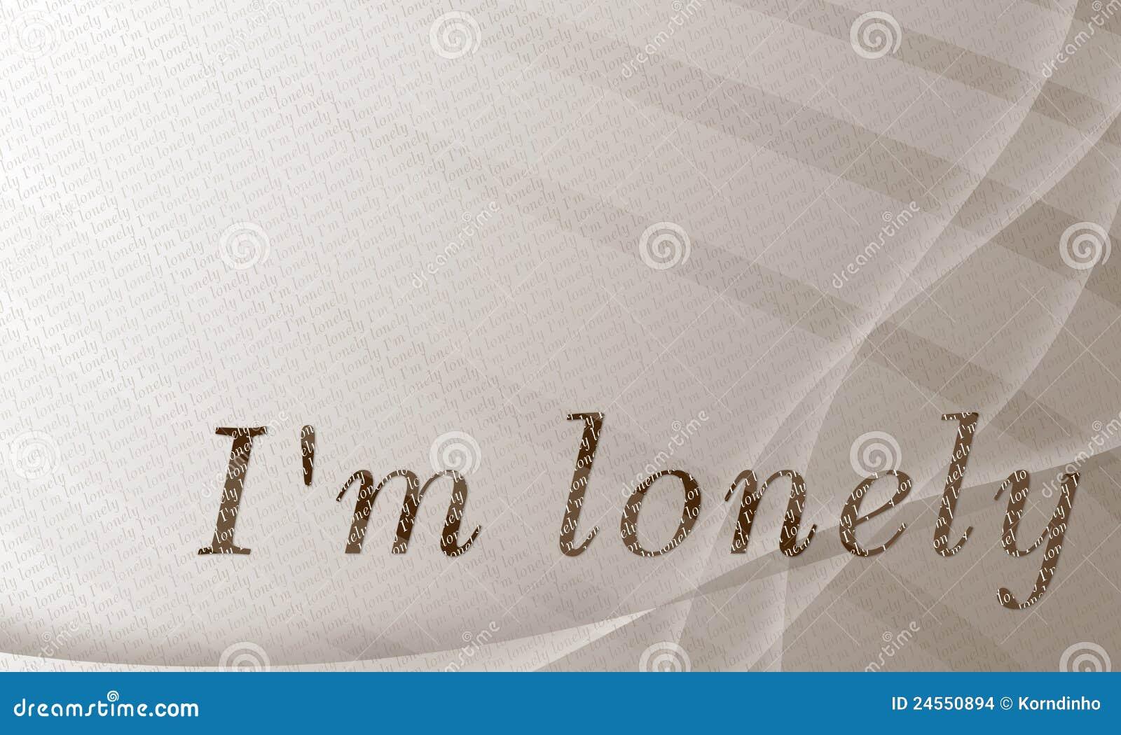 bin ich einsam