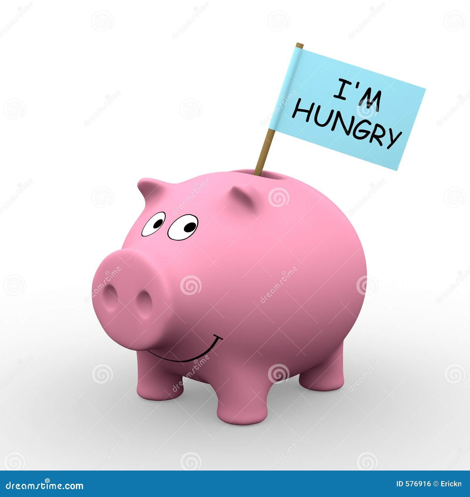 Ich Habe Hunger Lizenzfreies Stockbild - Bild: 576916