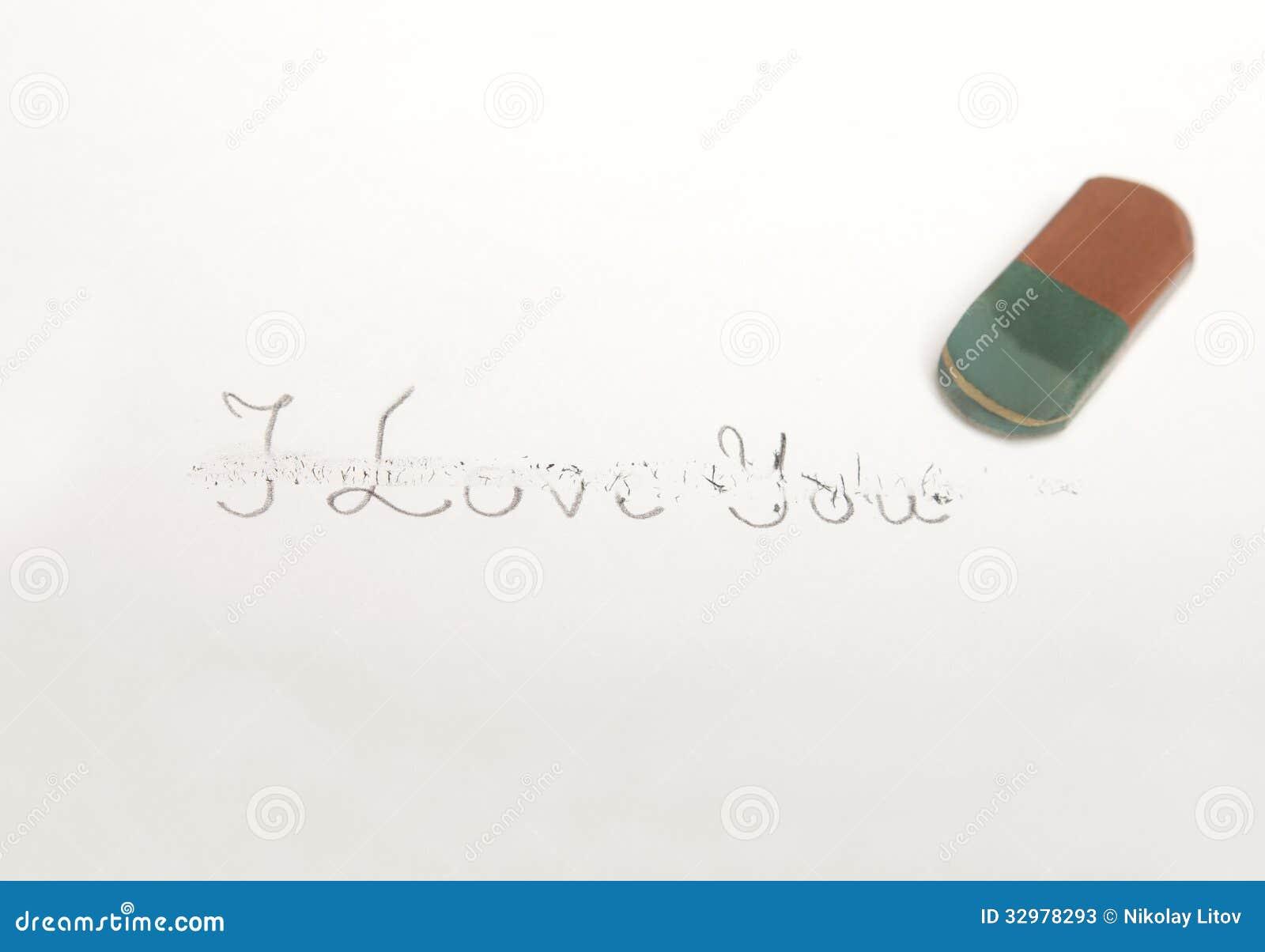 Ich liebe dich Löschen