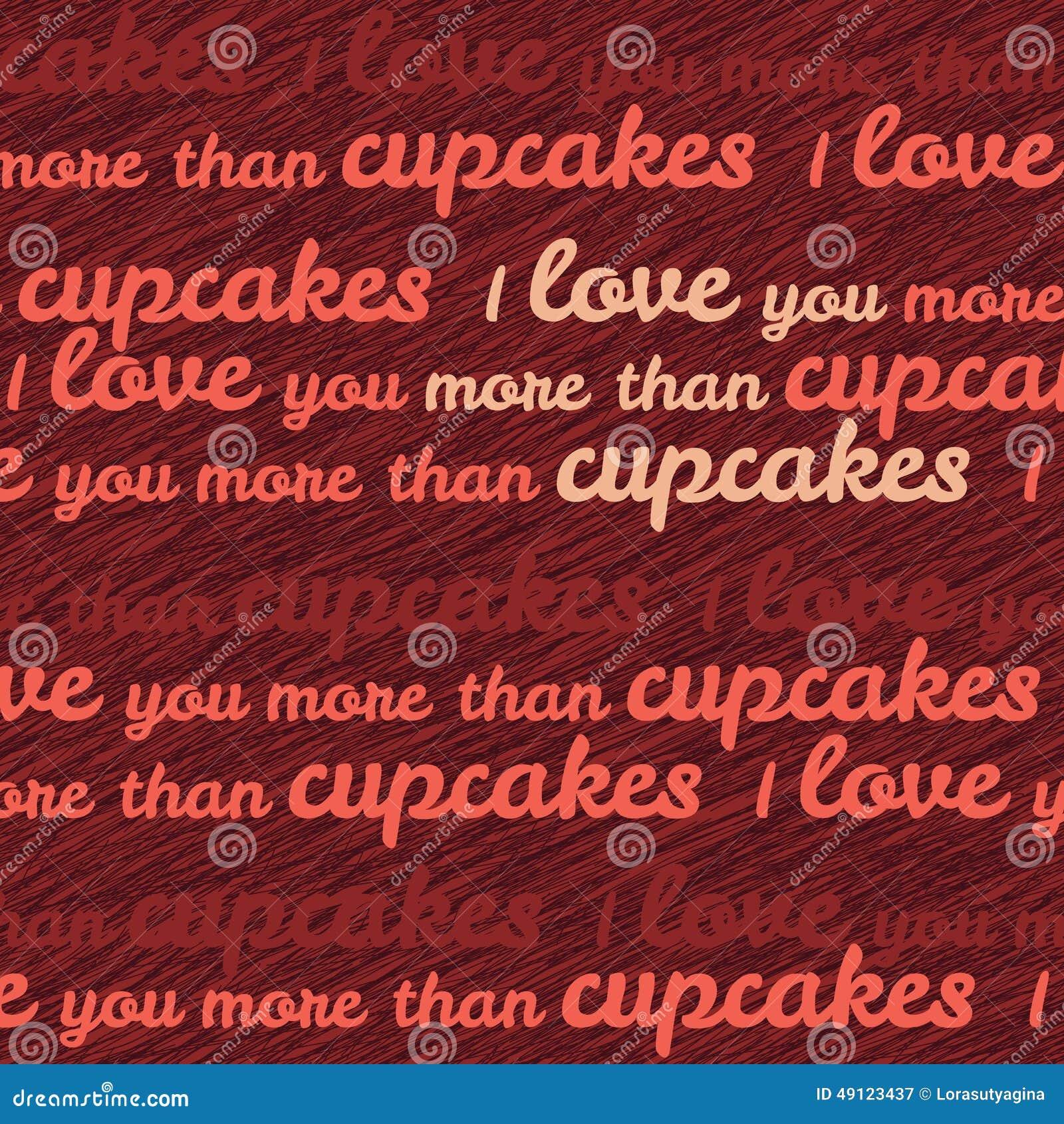Ich Liebe Dich Mehr Typografie Als Der Kleinen Kuchen Lustige Valentinstag  Liebes Karte