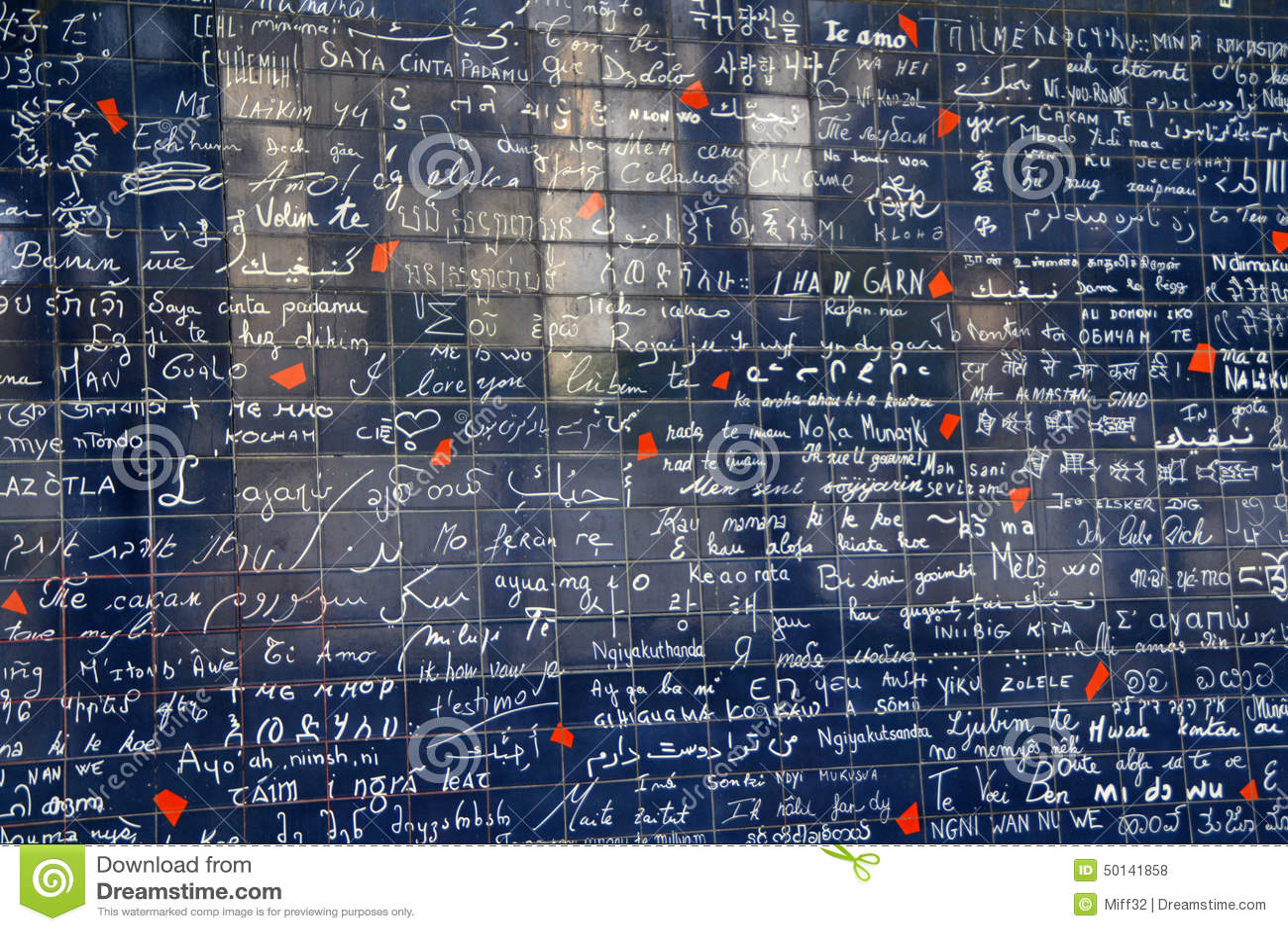 Ich Liebe Dich Wand Von Paris Je Le Mur Des T Aime In