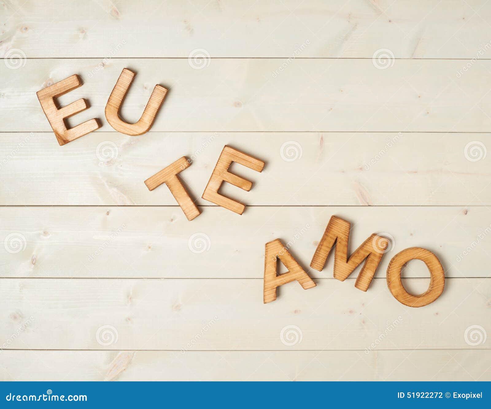 Ich Liebe Dich Portugiesisch