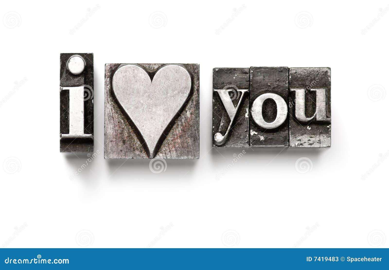 Ich liebe (Inneres) Sie