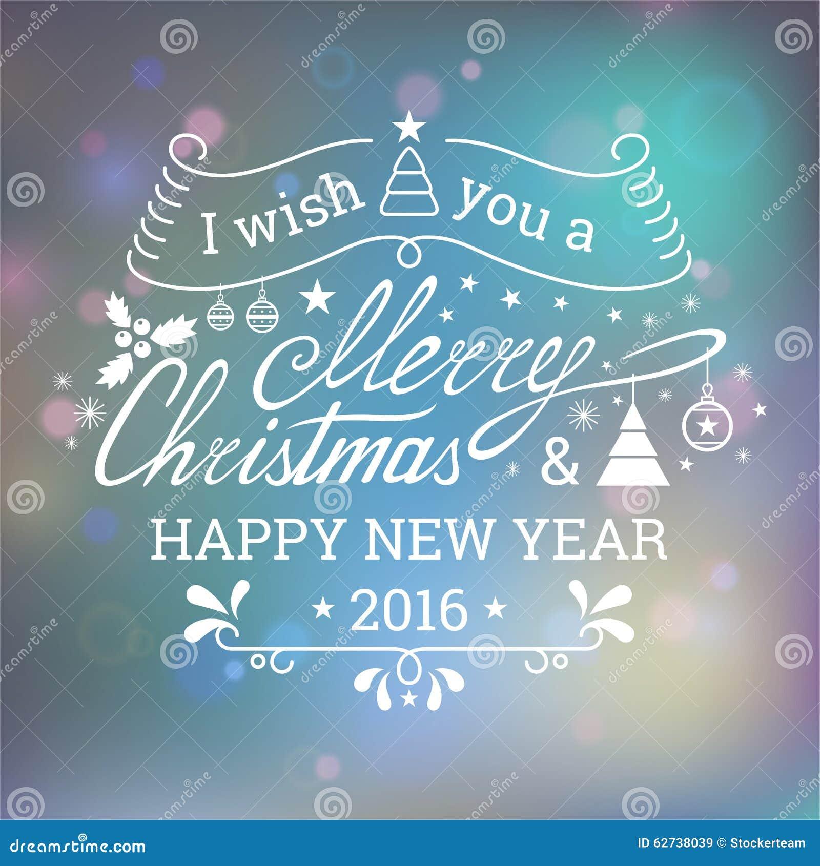 Ich Wünsche Ihnen Frohen Weihnachten Stock Abbildung - Illustration ...