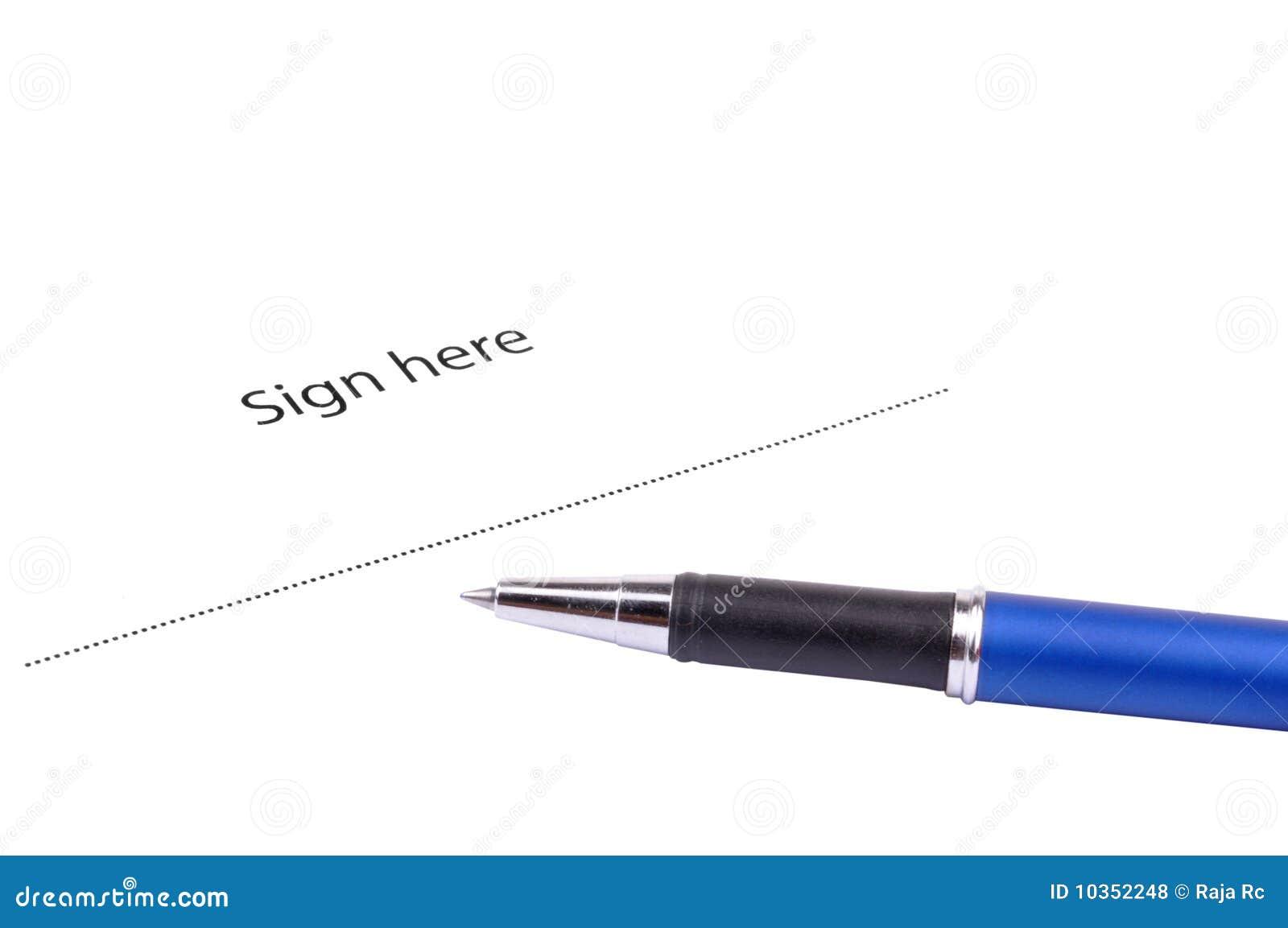 Ici signe