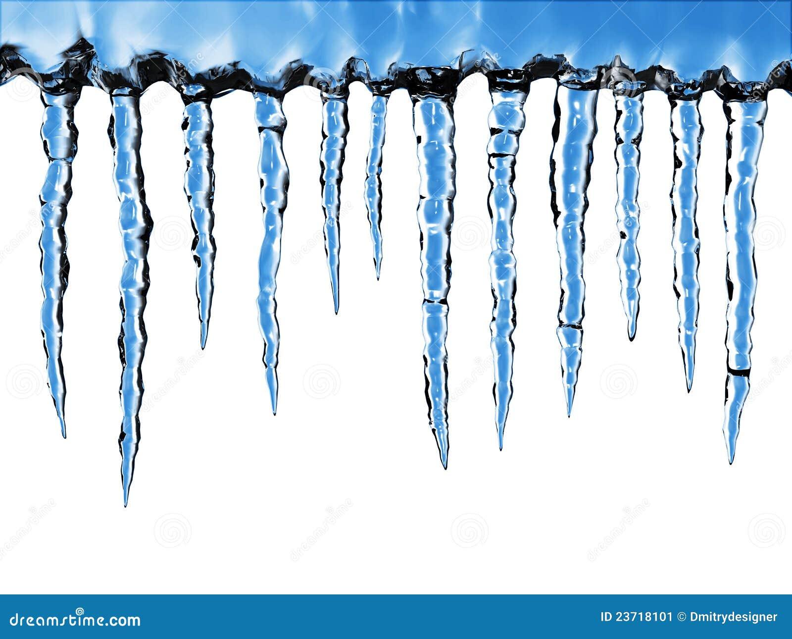 Icicles Close Up Stock Image Image Of Season Warming