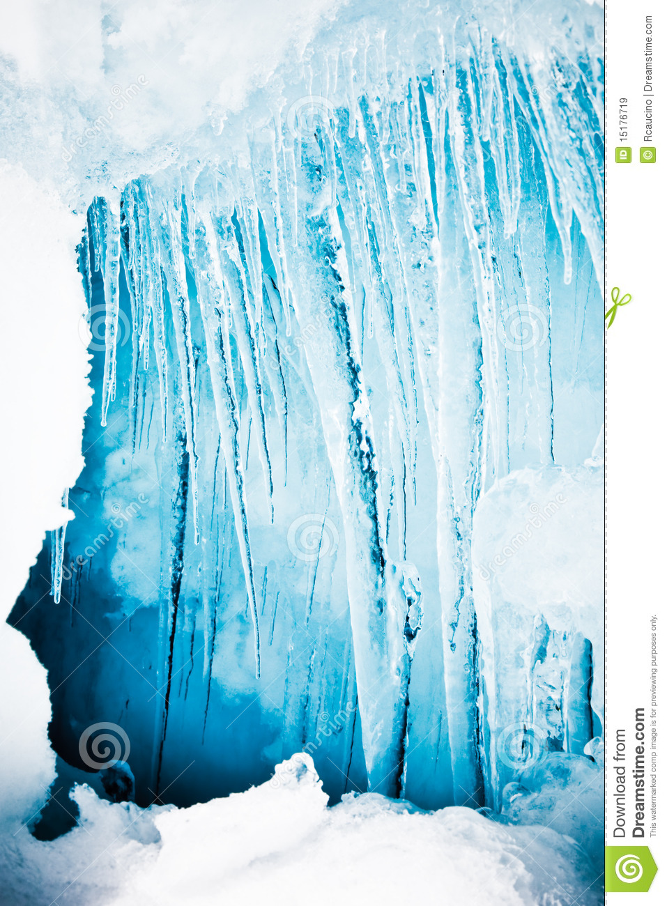 Icicles Cold Tone Royalty Free Stock Images Image 15176719
