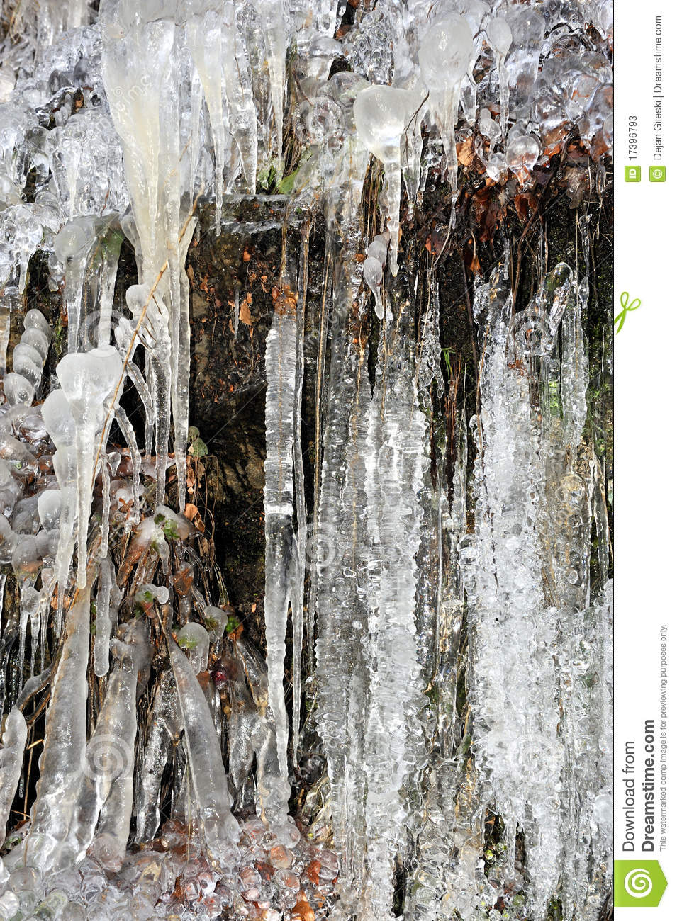 Icicles Hanging Stock Photos Image 17396793
