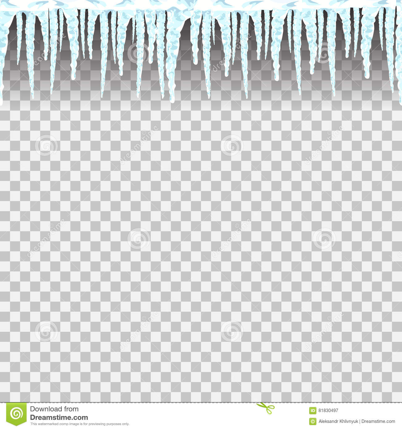 icicles seamless pattern stock illustration illustration of frost