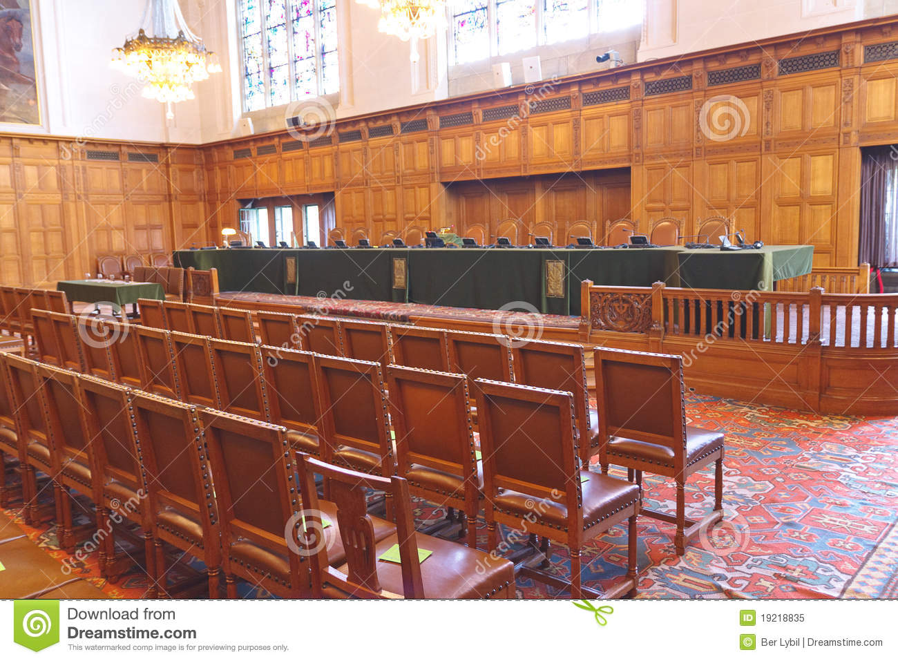 ICJ Courtroom International Court of Justice