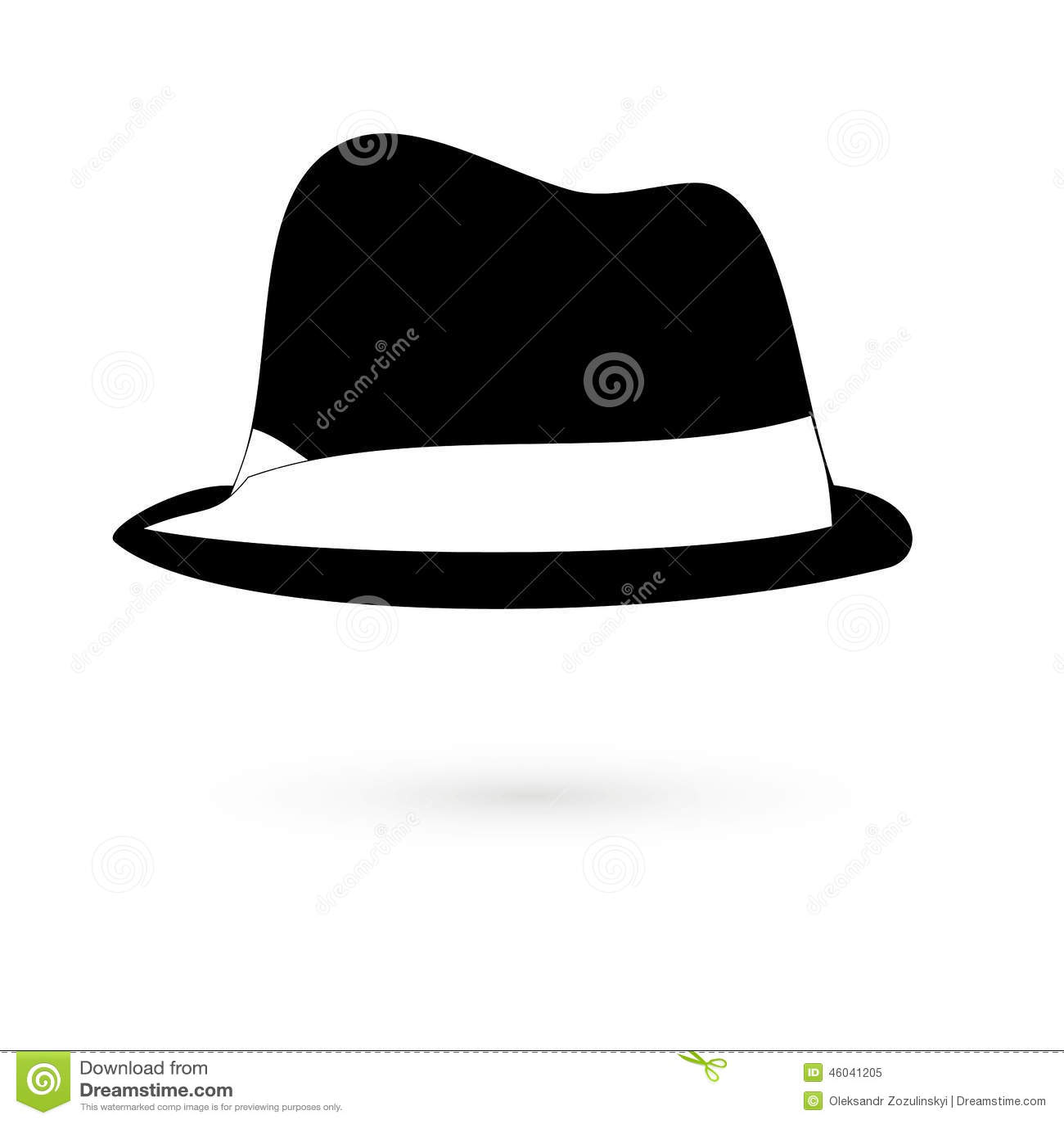 850455b96ac87 Icon black hats Raster stock illustration. Illustration of bowler ...