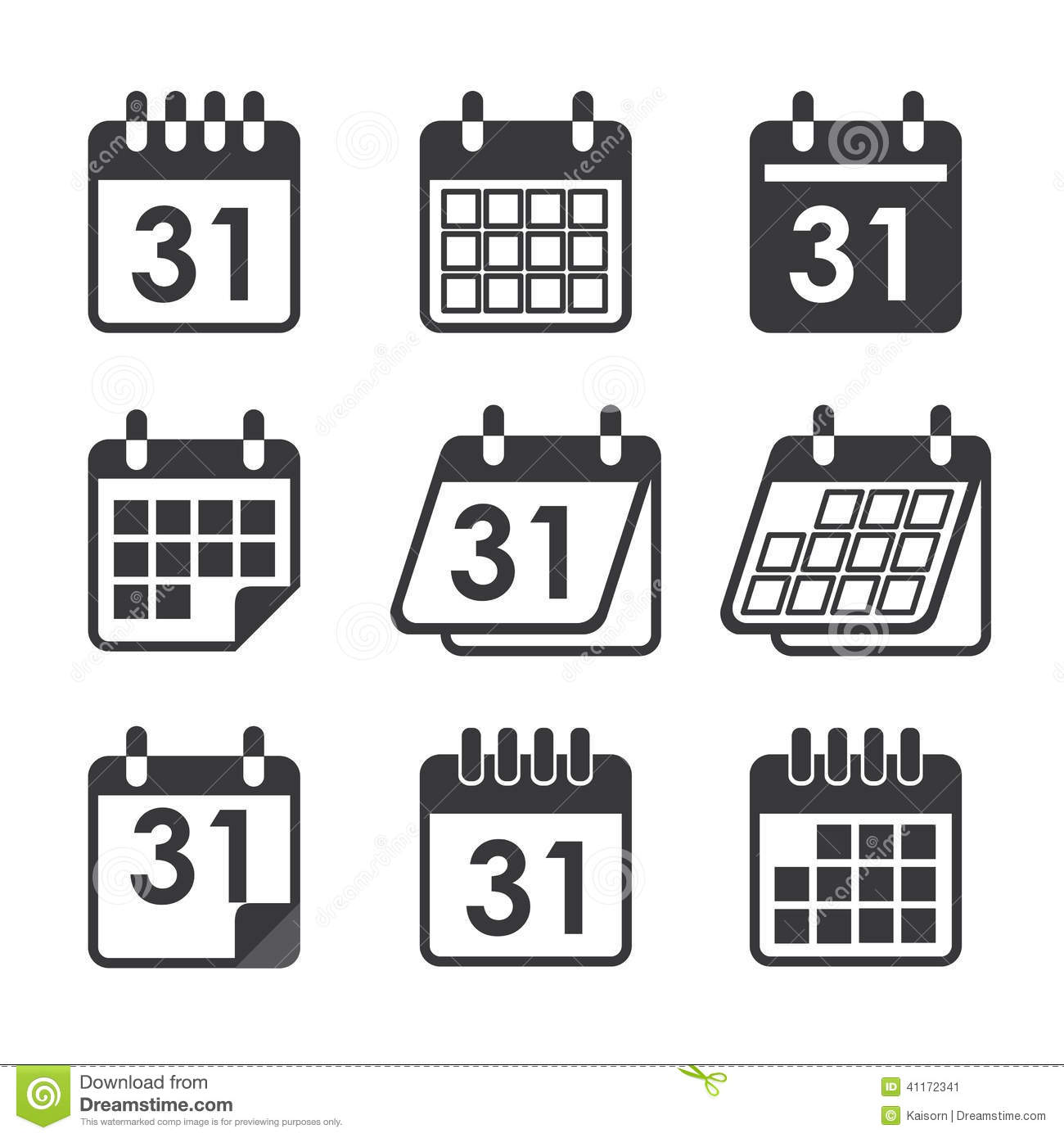 Calendar Web Icon : Icon calendar stock vector illustration of plan calender
