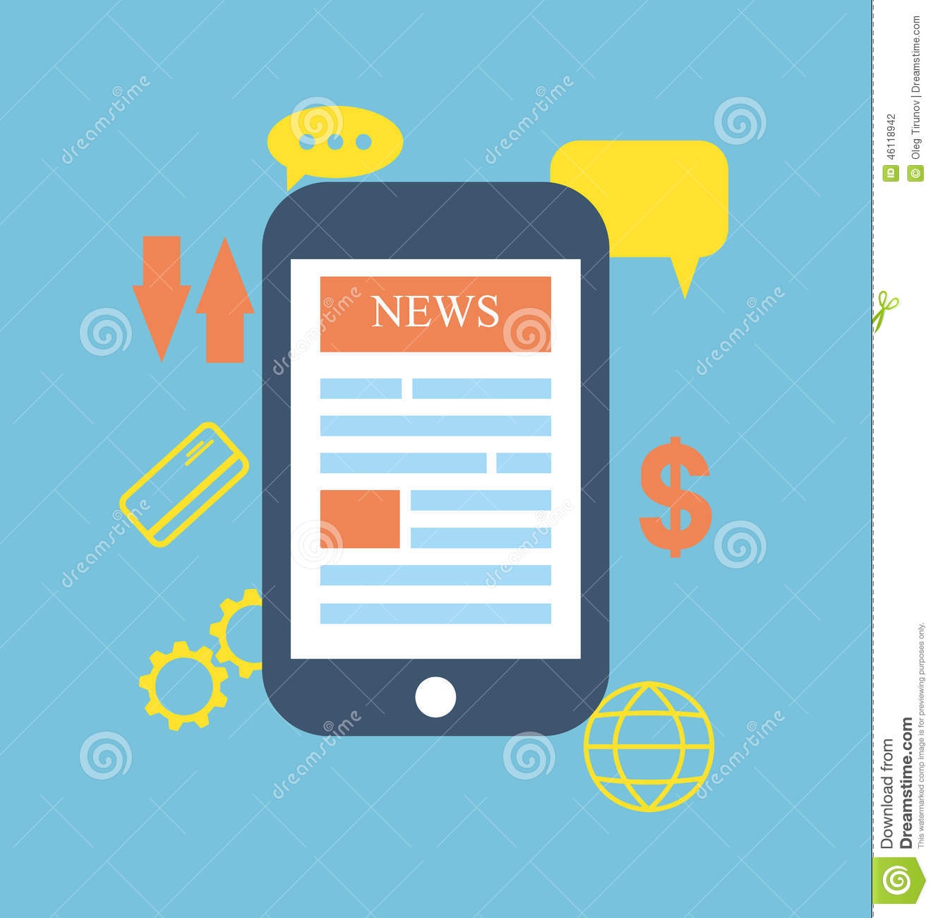 icon concept symbols phone global news information business onli rh dreamstime com  information technology clipart png