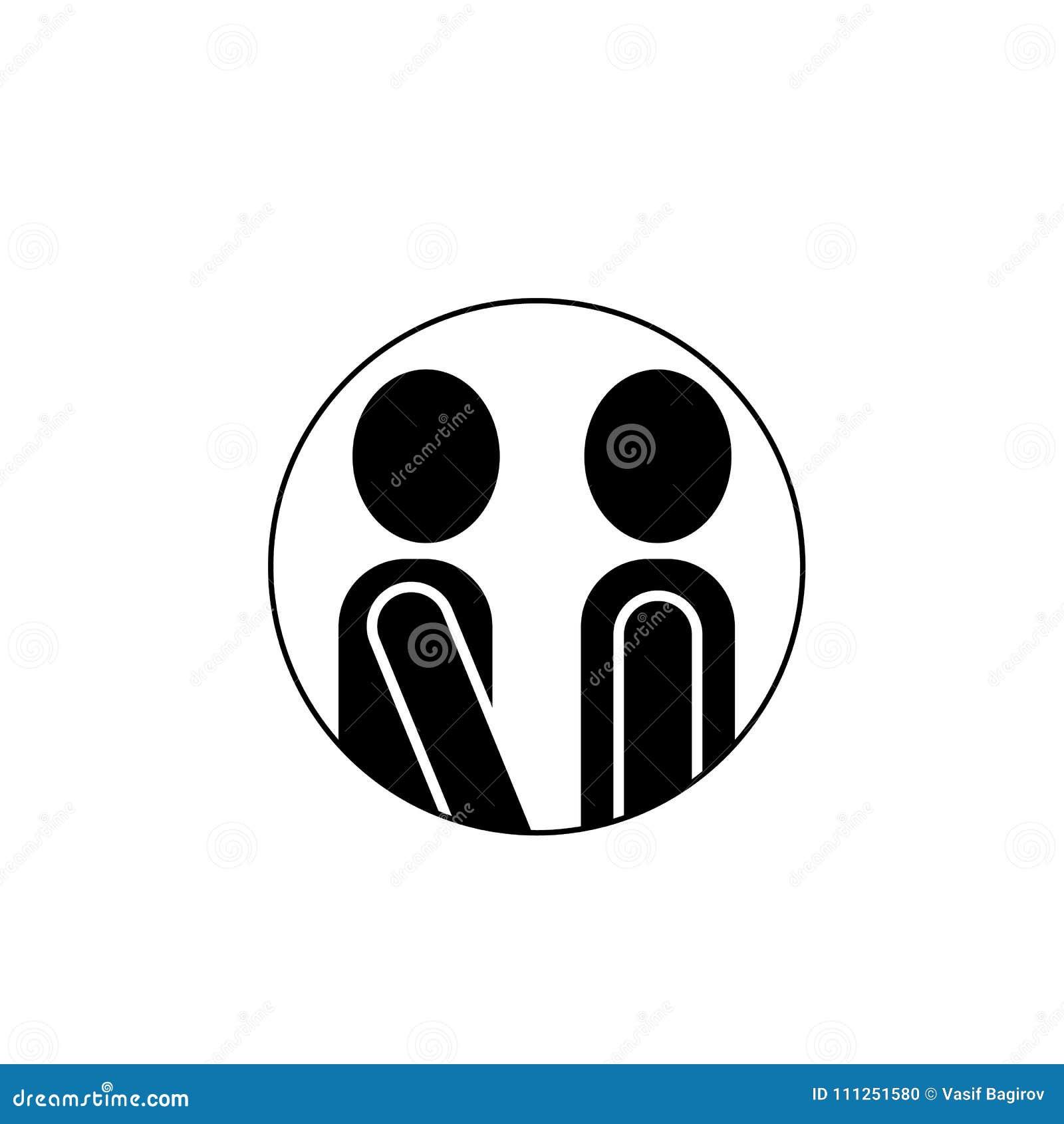 Icon, conversation, speech, bubble, , talk, symbol, illustration, sign, message, chat, communication, design, dialog, discus