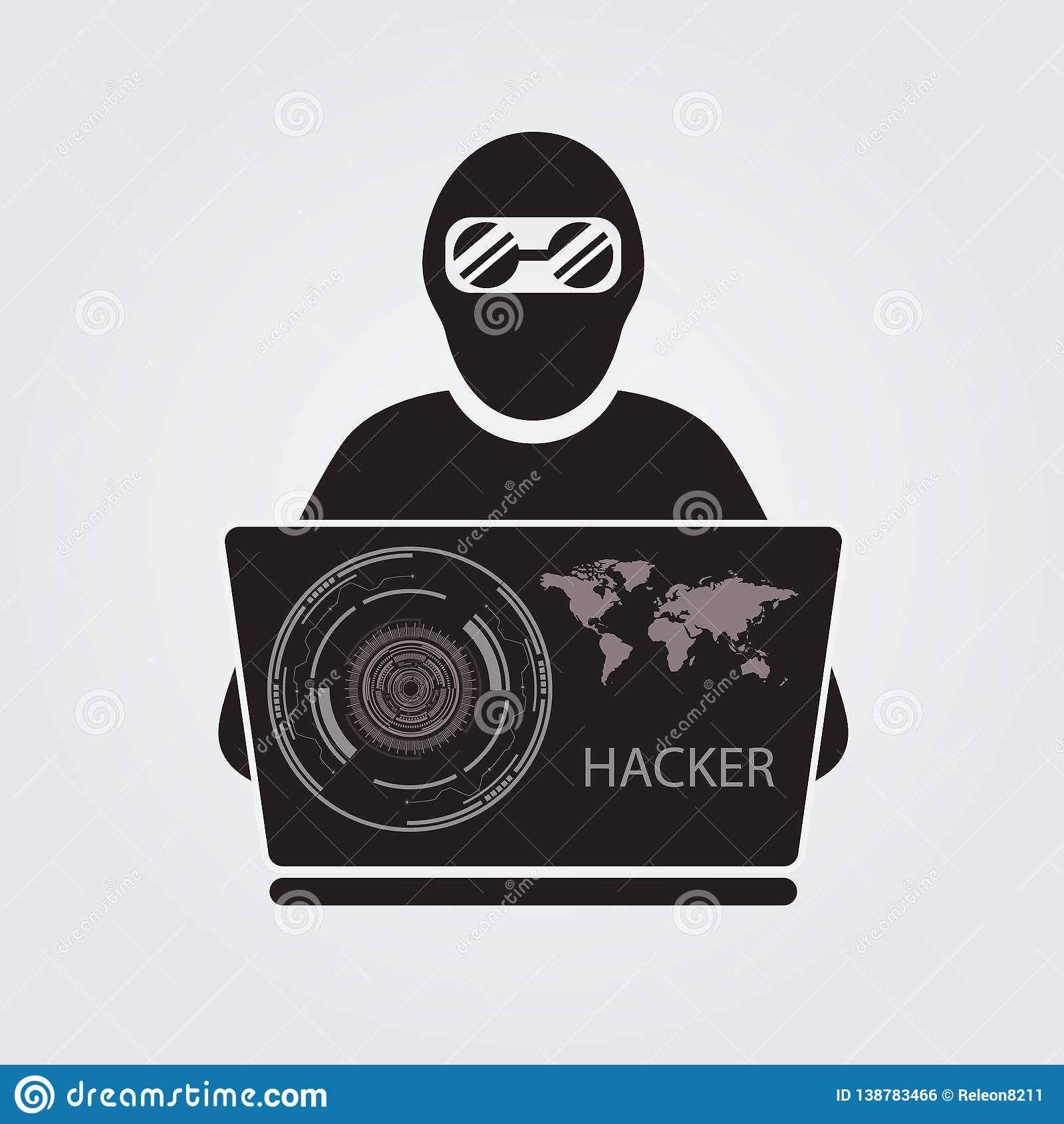 caeeef3f Icon Hacker Stock Illustrations – 17,555 Icon Hacker Stock Illustrations,  Vectors & Clipart - Dreamstime