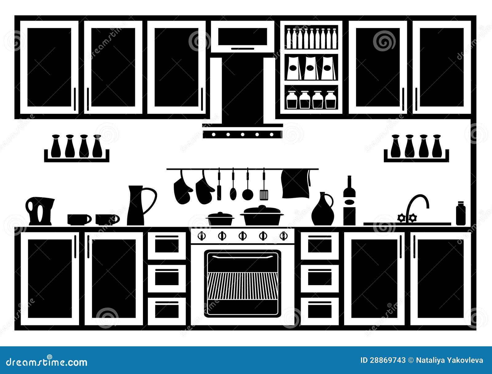 White Kitchen Sink Faucet Icon Of Kitchen Stock Photos Image 28869743