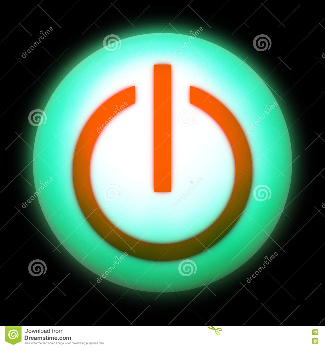 Icon On Off Stock Image Image Of Start Free Graphic 78120367