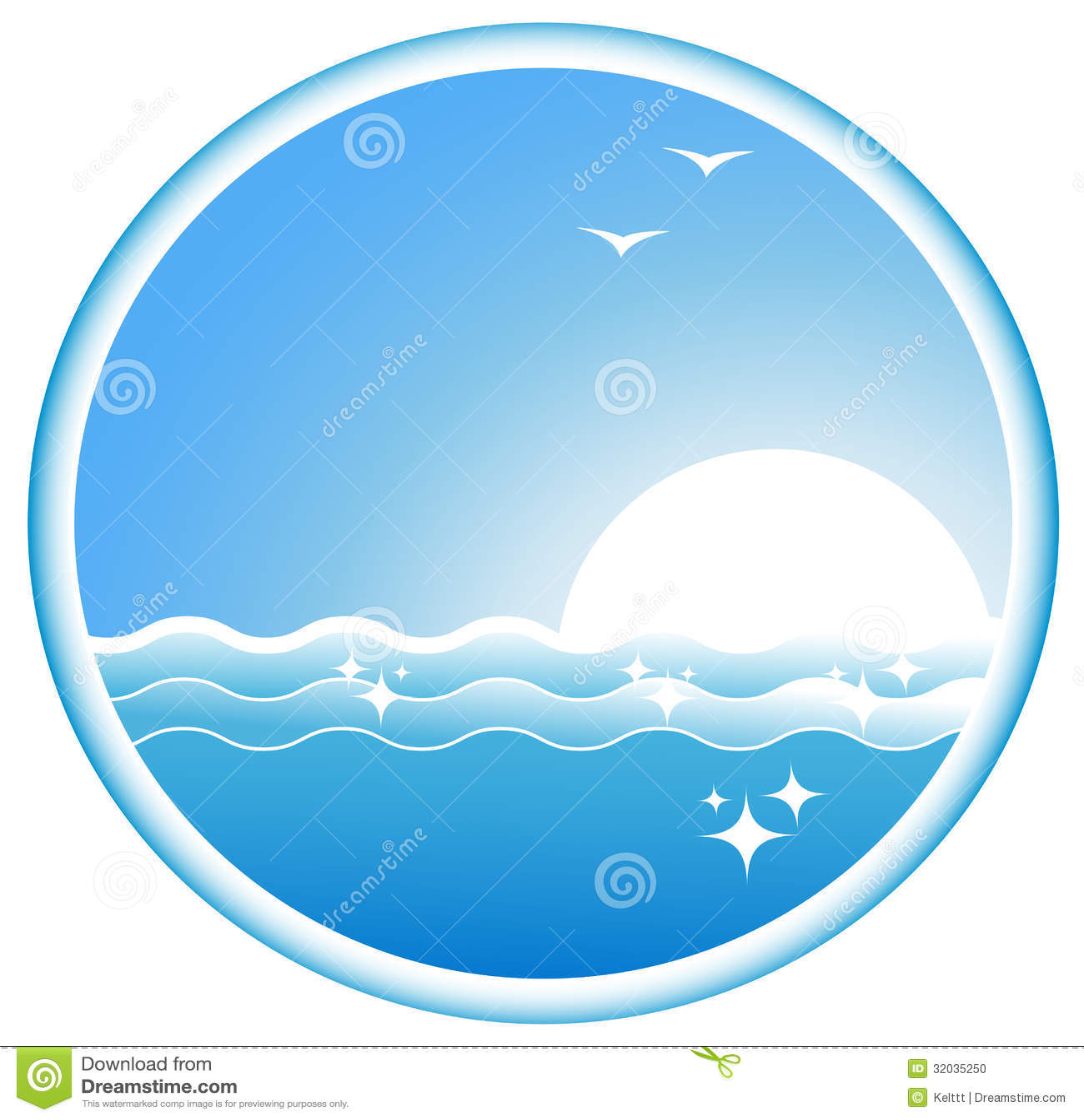 Sea Icon Icon with sea...