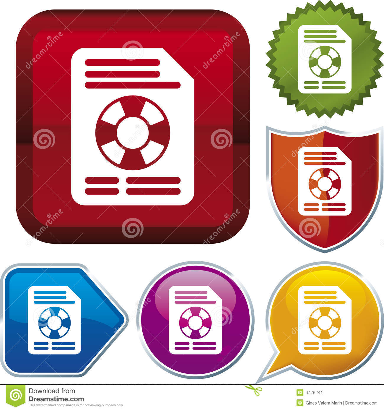 Bank Of Marin Stock Quote: Icon Series: File Recovery Stock Image