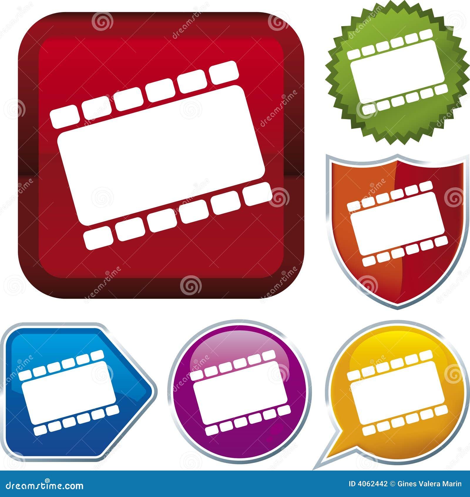 Icon series: film (vector)